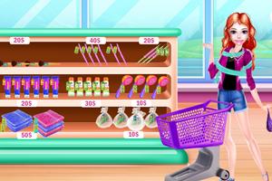 《漂亮女孩购物》游戏画面1