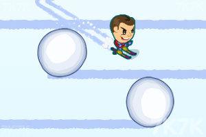 《滑雪挑战》游戏画面3