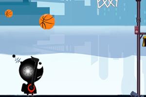 《机器人投篮》游戏画面1