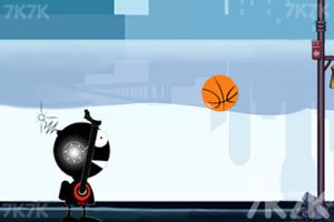 《机器人投篮》游戏画面2