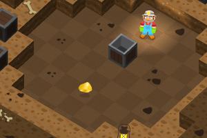 《矿工推箱子》游戏画面1