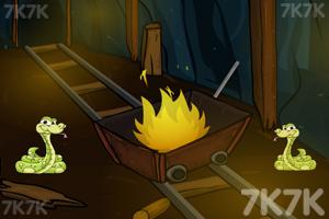 《逃出黄金矿洞》游戏画面1