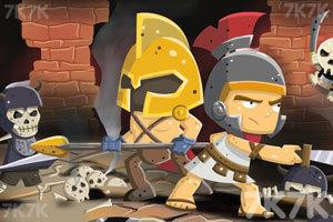 《骑士的钻石》游戏画面1