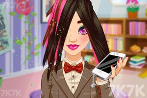 《奥利维亚的发型》游戏画面3
