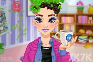 《奥利维亚的发型》游戏画面1