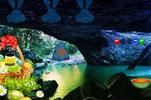 《复活节洞穴逃脱》游戏画面1
