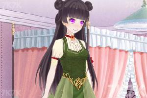 《甜美女孩百变装扮》游戏画面1