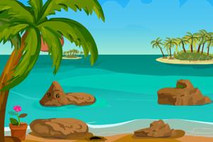 《坐船逃离小岛》游戏画面1