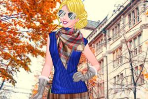 《女孩的四季装扮》游戏画面3