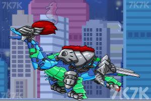 《组装机械深海鱼龙》游戏画面1