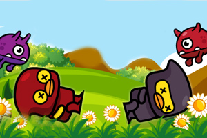《鸭子大冒险选关版》游戏画面1