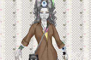 《变异女孩的装扮》游戏画面3