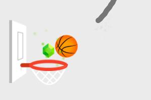 《画线篮球2》游戏画面1