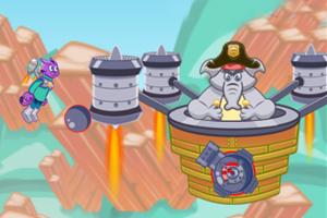 《火箭警察喵大冒险选关版》游戏画面1