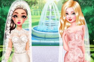 《唯美时尚婚纱礼服》游戏画面1