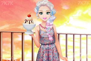 《甜美奥莉吃甜点》游戏画面1