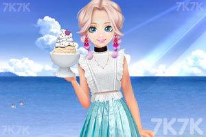 《甜美奥莉吃甜点》游戏画面2