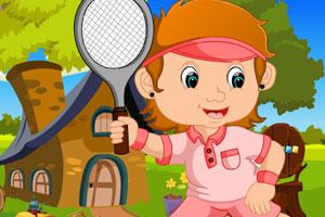 《救援网球女孩》游戏画面1
