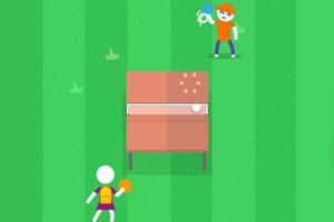 《精彩乒乓球赛》游戏画面1