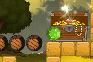 《绿钻石进宝箱》游戏画面1