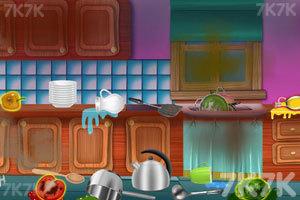 《清洁粉红房子》游戏画面2