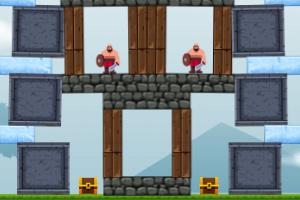 《围攻城堡选关版》游戏画面1