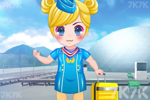 《美丽小空姐》游戏画面2