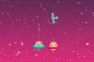 《太空射击大战》游戏画面1