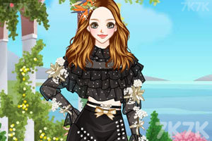 《木耳边雪纺裙》游戏画面1