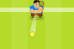 《网球训练营》游戏画面1
