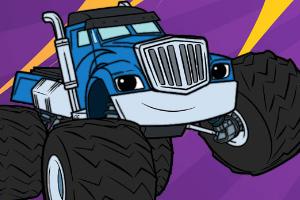 火焰怪物卡车图画册