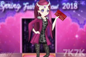 《小魔女参加模特大赛》游戏画面1