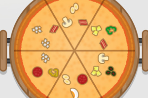 《对称的披萨》游戏画面1