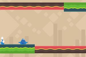 《小蓝孩酷跑》游戏画面1