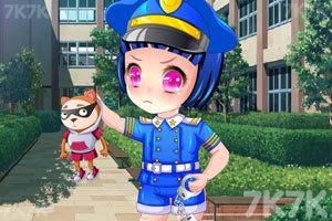 《可爱日本小警花》截图3