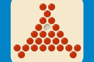 《欢乐跳跳棋》游戏画面1