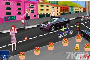 《公主新年城市清洁》游戏画面1