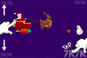 《圣诞老人打雪人》游戏画面3