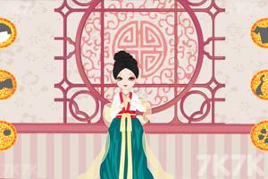 《可爱古装女生》游戏画面2
