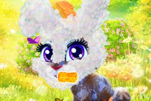 《照顾开心小兔》游戏画面1
