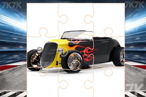 《改装车辆拼图》游戏画面2