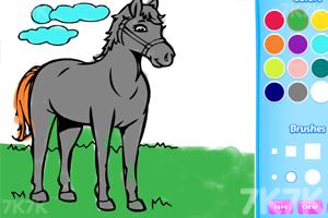 《小马图画册》游戏画面1