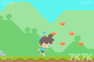 《带帽男孩跑酷》游戏画面3