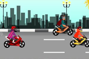 《极速摩托车手》游戏画面1