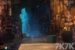 《山洞里寻宝藏》游戏画面2