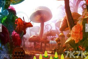 《蘑菇林蝴蝶女逃脱》游戏画面3