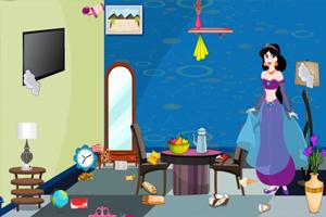 《莉莉整理客厅》游戏画面1