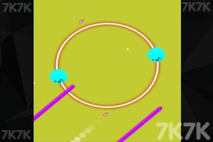《圆形行星》游戏画面1