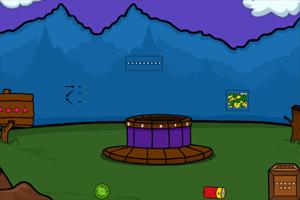 《婴儿森林逃脱》游戏画面1