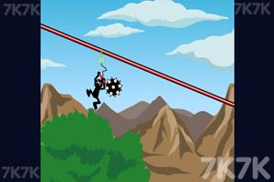 《高空绳索跳跃》游戏画面3